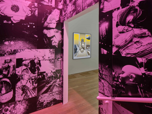 Exhibition view: Chan Wai Kwong and Bettina Von Arnim, at Phantom Plane, Cyberpunk In The Year Of the Future.
