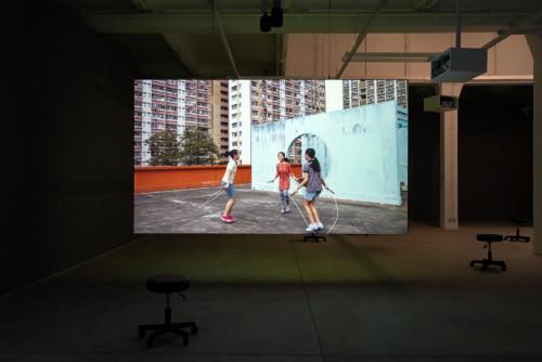 """Jump Rope"", Children's Game, Hong Kong, 2020"