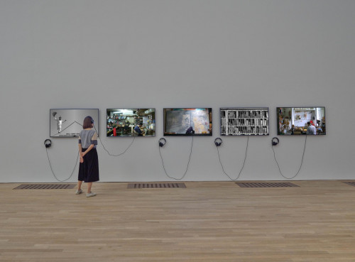 """Exhibition view: Sojung Jun, """"They Do Not Understand Each Other""""."""