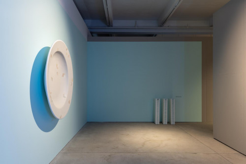 Exhibition view: Chou Yu Cheng, at  Contagious Cities: Far Away, Too Close.