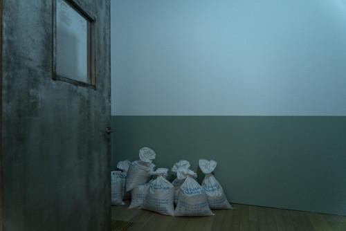 "Installation view of ""SNEEZE"""