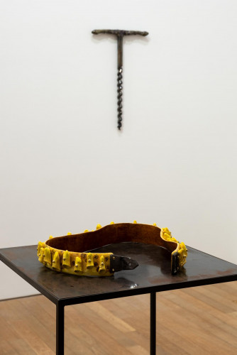 Exhibition view: Julia Phillips, at Performing Society: The Violence of Gender. Photo:  Kwan Sheung Chi.