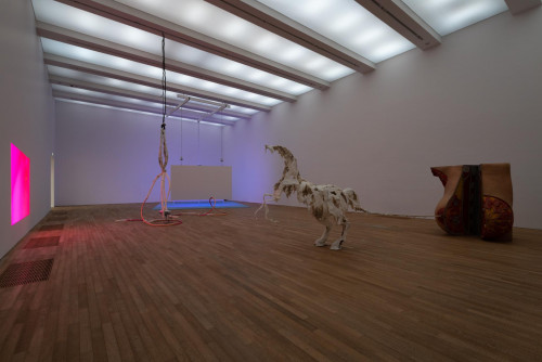 Exhibition view: Raphaela Vogel, at Performing Society: The Violence of Gender. Courtesy: BQ, Berlin & Raphaela Vogel.
